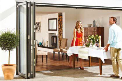 aluminium bi-fold doors wimbledon