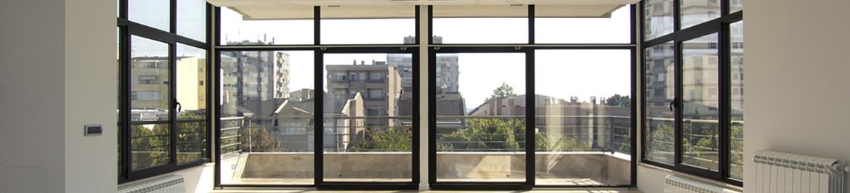 aluminium windows raynes park