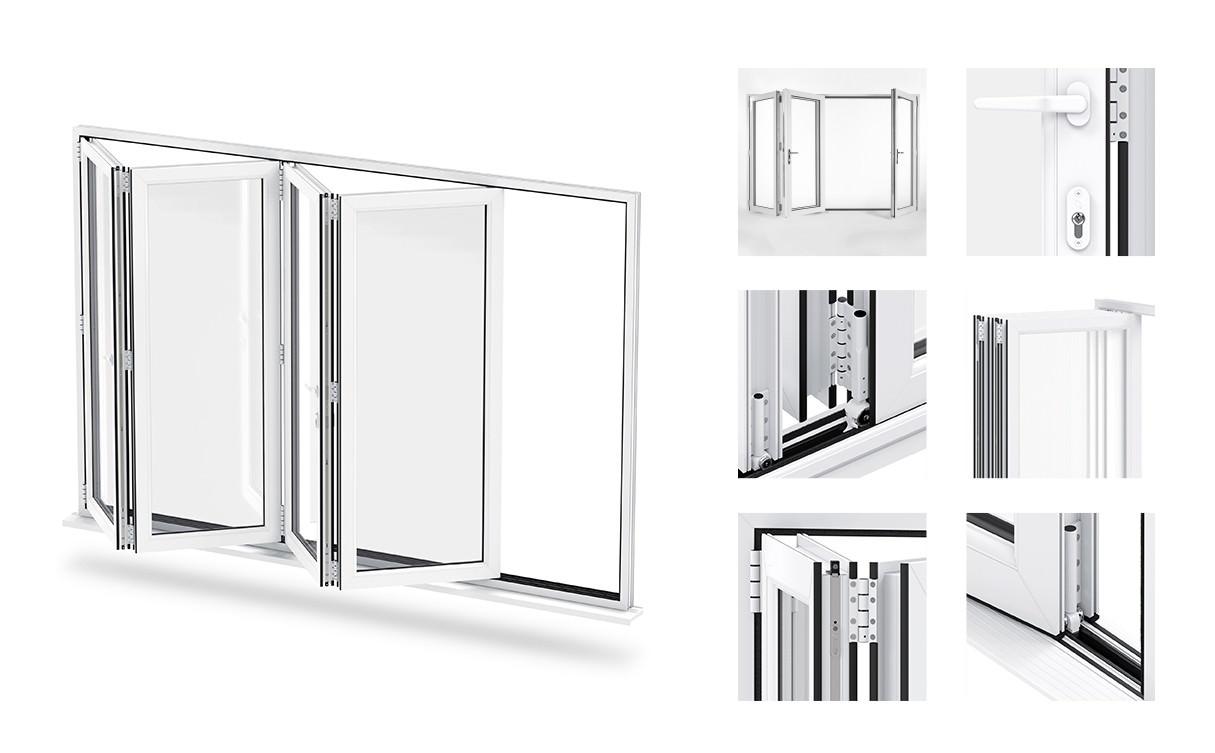 upvc bi-folding doors richmond