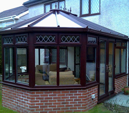 victorian conservatory double glazing