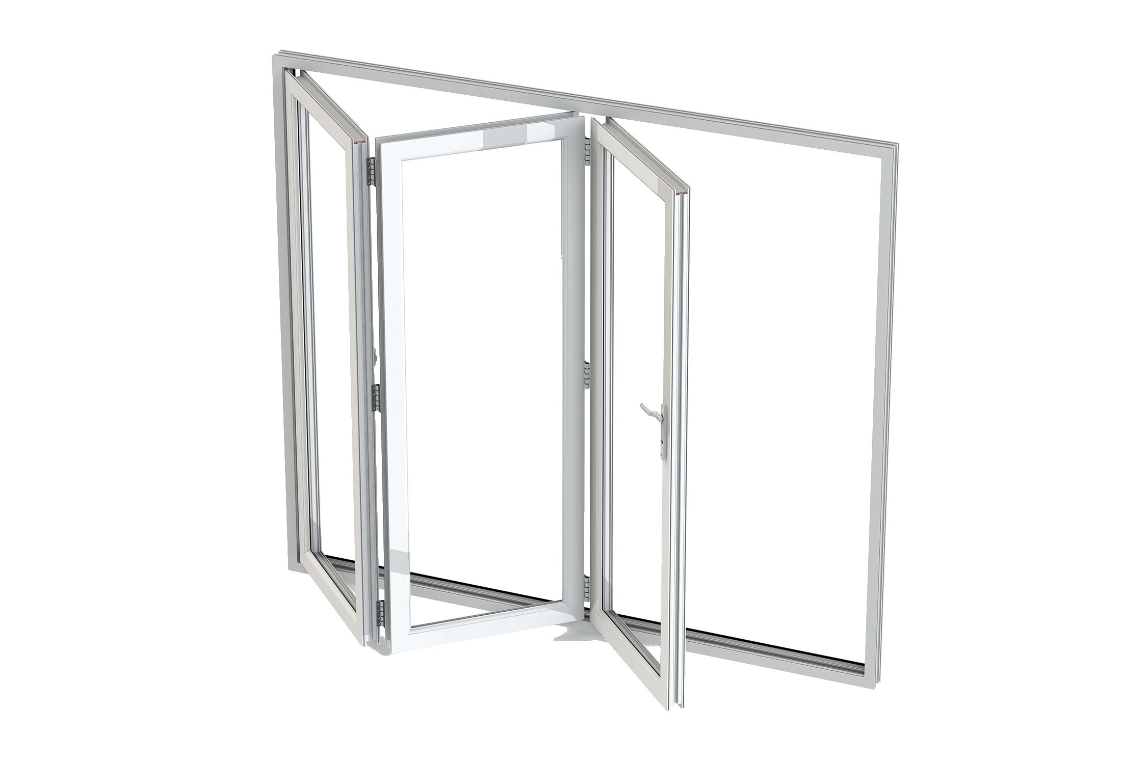 Aluminium Bi Folding And Multi Folding Doors Double Glazed Doors - Double glazed bi folding doors london