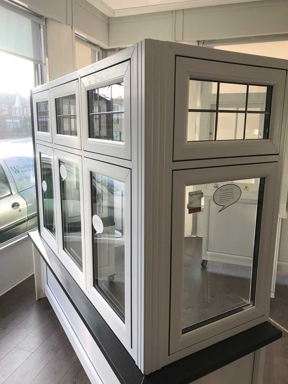 Liniar Flush Casement Windows Wimbledon